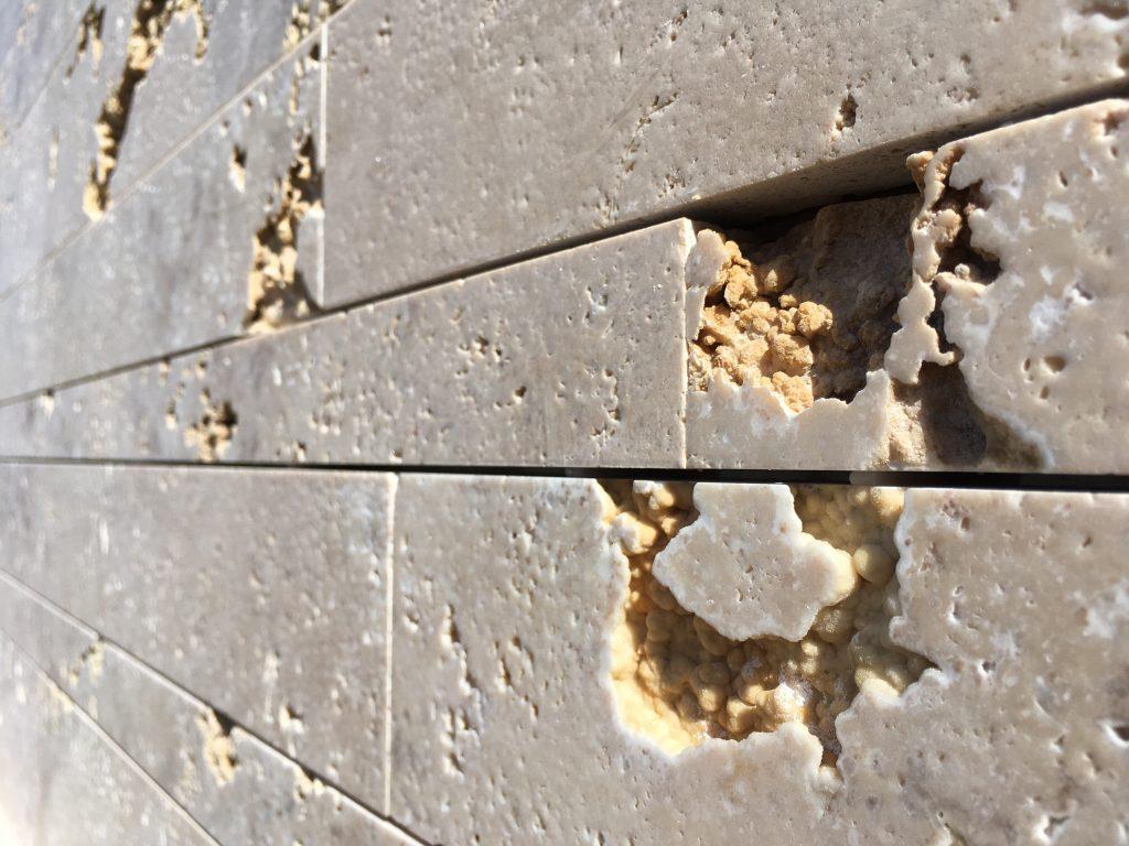 Listello INOUT - Torresan Travertino - Lusso Artigiano